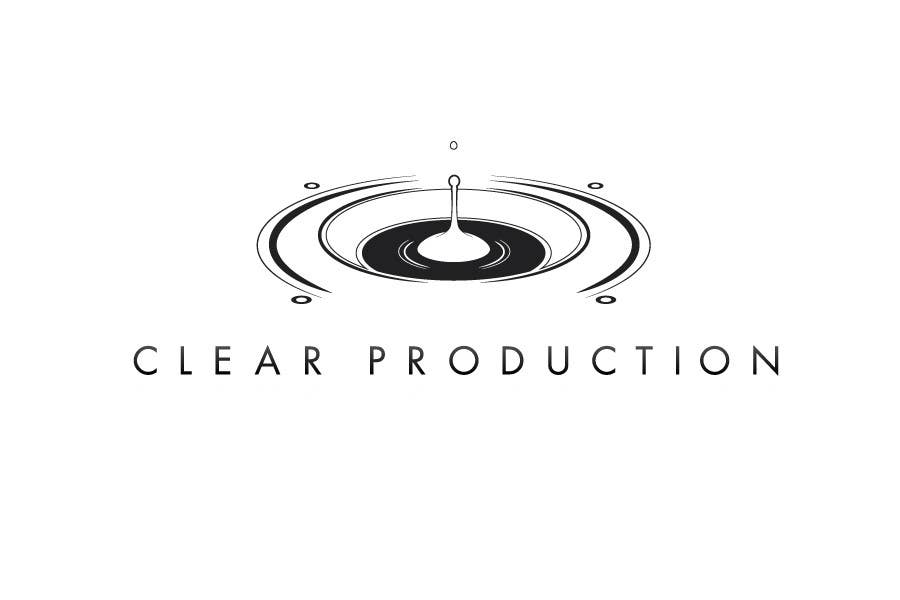 "Contest Entry #                                        644                                      for                                         Logo Design for ""CLEAR PRODUCTION"" - Recording a mixing studio in Copenhagen"