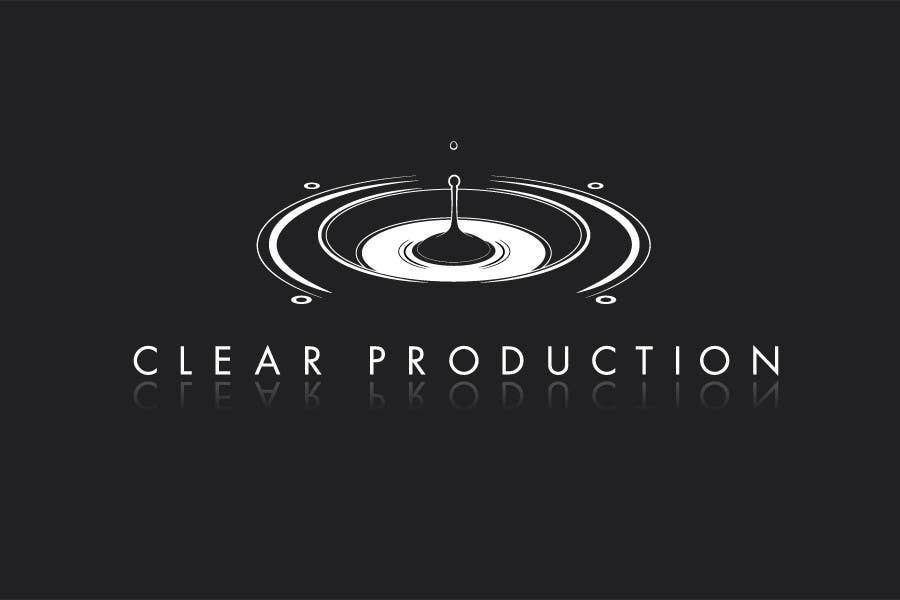 "Contest Entry #                                        642                                      for                                         Logo Design for ""CLEAR PRODUCTION"" - Recording a mixing studio in Copenhagen"