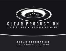 "#871 para Logo Design for ""CLEAR PRODUCTION"" - Recording a mixing studio in Copenhagen de marcoartdesign"
