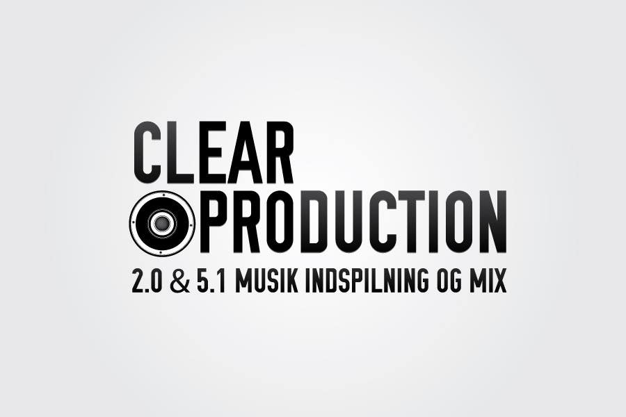"Contest Entry #                                        869                                      for                                         Logo Design for ""CLEAR PRODUCTION"" - Recording a mixing studio in Copenhagen"