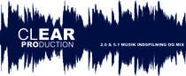 "Graphic Design Contest Entry #984 for Logo Design for ""CLEAR PRODUCTION"" - Recording a mixing studio in Copenhagen"