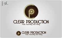 """Graphic Design Contest Entry #636 for Logo Design for """"CLEAR PRODUCTION"""" - Recording a mixing studio in Copenhagen"""