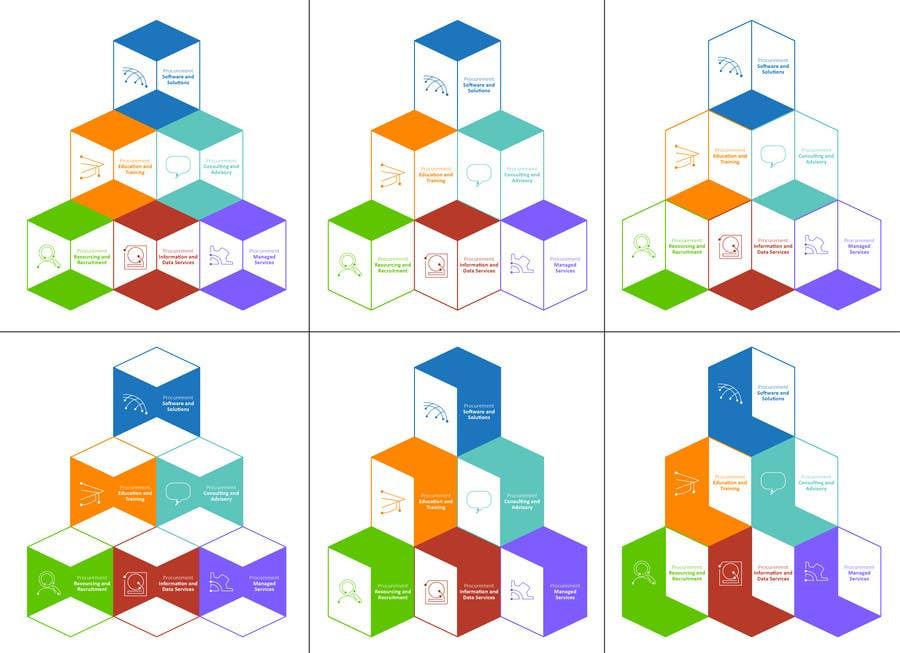 Penyertaan Peraduan #101 untuk Design Six Icons for Directory Website