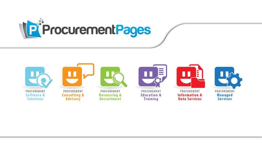 Penyertaan Peraduan #94 untuk Design Six Icons for Directory Website