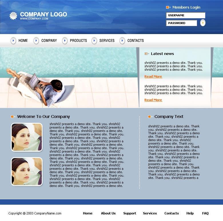 Konkurrenceindlæg #                                        12                                      for                                         Design a Website Mockup for the website