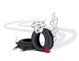 #40 for Car Tire Character by tedian
