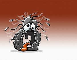 nº 27 pour Car Tire Character par pixell