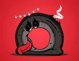 #28 for Car Tire Character by janssenpanizales