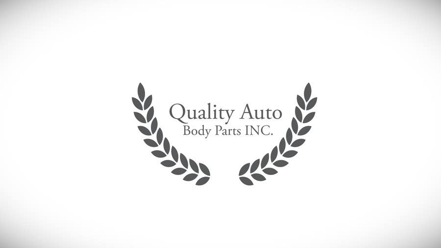 #14 for Design a Logo for Quality Auto Body Parts Inc. by speedpro02