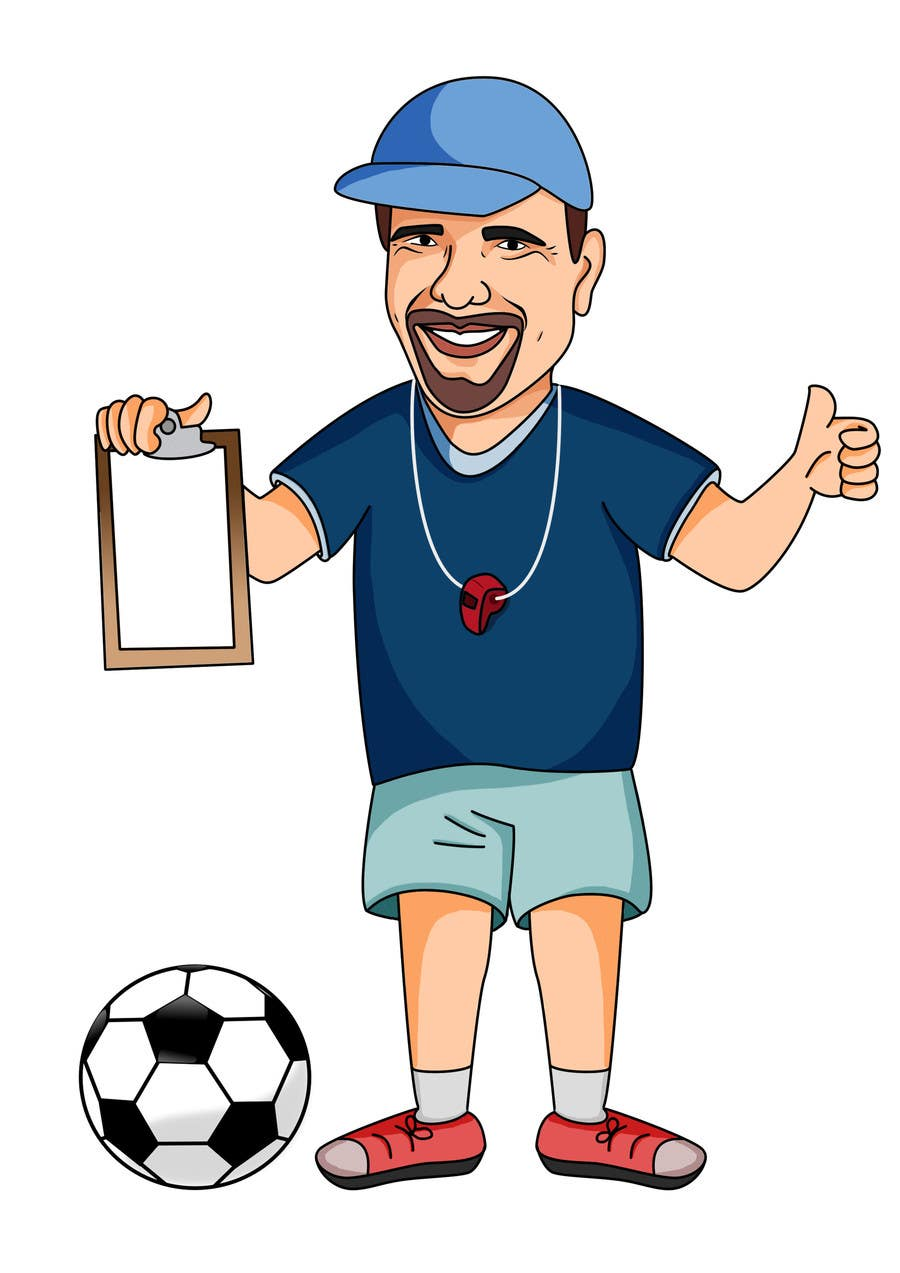 Image result for soccer coach clipart