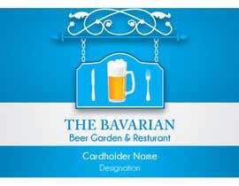 #14 para Design a Menu and Business Card for a Bavarian Restaurant and Beer Garden por blackd51th