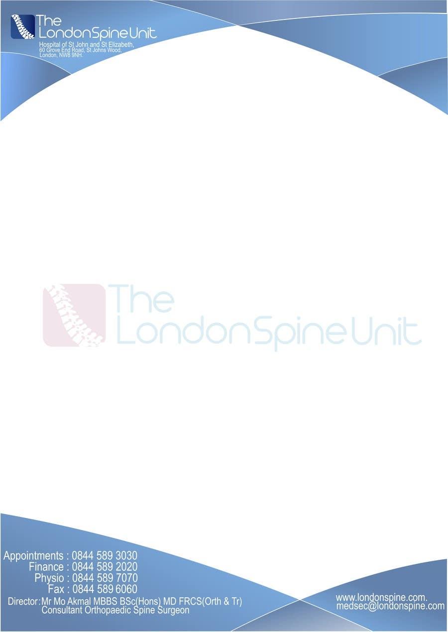 #46 for Design a Logo for London Spine Unit by rostovniki