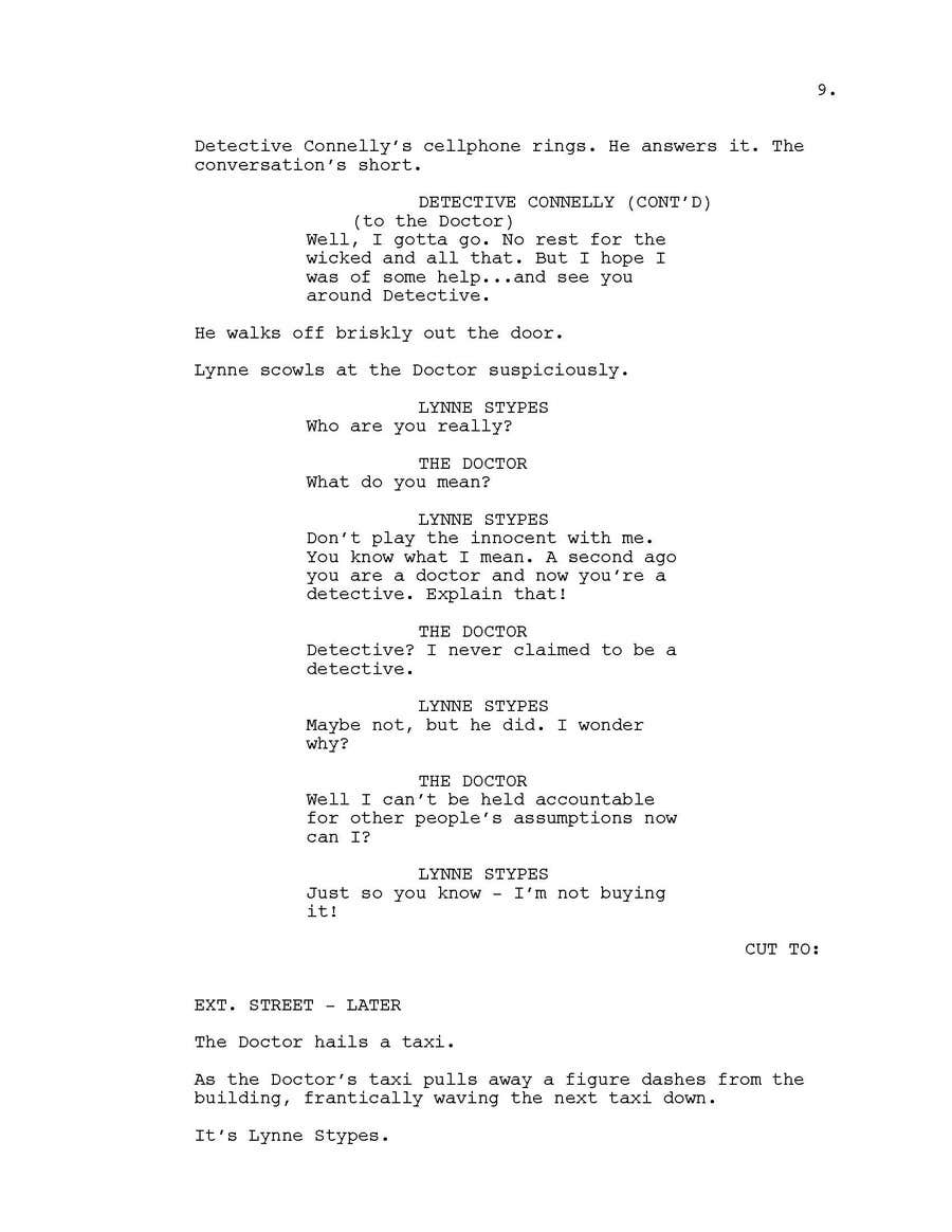 Contest Entry #7 for Doctor Who FanFic ScreenPlay