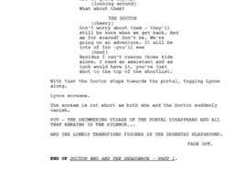 #9 for Doctor Who FanFic ScreenPlay by bakiwanuka