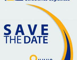 #81 for Diseño de un Save the Date para evento de aniversario by stebso