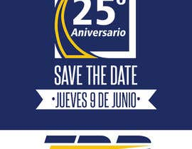 #41 for Diseño de un Save the Date para evento de aniversario by nachexbol