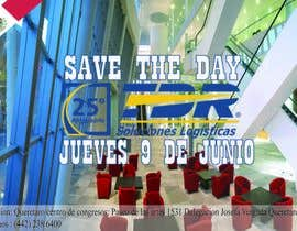 #94 for Diseño de un Save the Date para evento de aniversario by amoran87