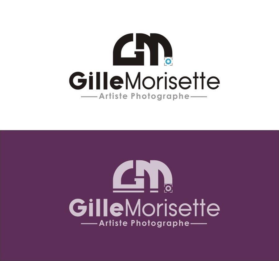 Proposition n°                                        31                                      du concours                                         Concevez un logo Gille Morisette Artiste Photographe
