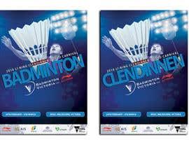#16 для Design A Badminton Tournament Poster от dgnGuru