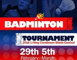 #13 для Design A Badminton Tournament Poster от wadiprabowo