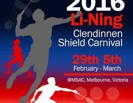 #15 для Design A Badminton Tournament Poster от wadiprabowo