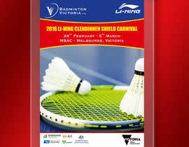 #11 для Design A Badminton Tournament Poster от linokvarghese