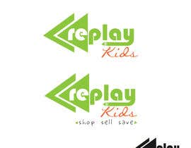 #10 para Design a Logo for Replay Kids por fadzkhan