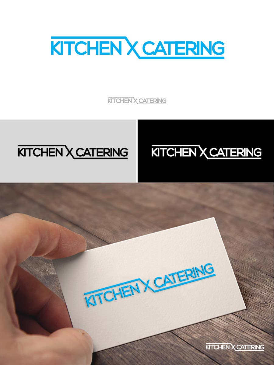 Contest entry 4 for redesign logo kitchen x