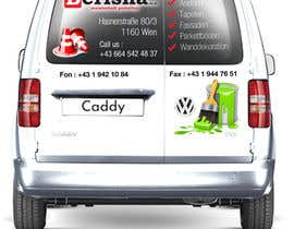 nº 9 pour I need a graphic Design for car lettering par proxlservice