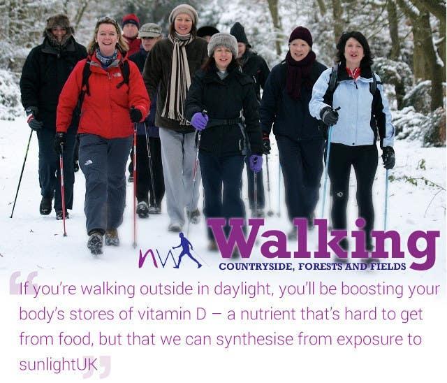Konkurrenceindlæg #19 for Design a Logo for Nordic Walking East London