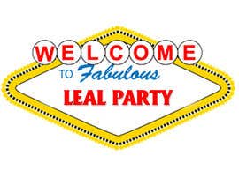 #18 para Design a Logo for Leal Party por pikhaltienphuc