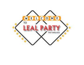 #39 para Design a Logo for Leal Party por vineshshrungare