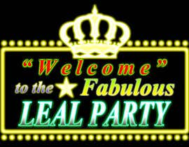 #38 para Design a Logo for Leal Party por rootdevil