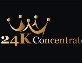#44 for Design logo for 24K Concentrate af fb564fa207c95ab
