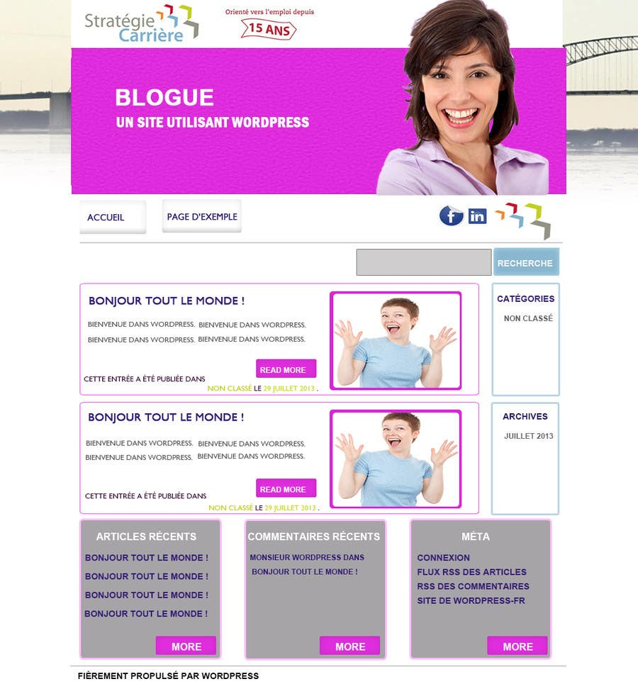 Bài tham dự cuộc thi #3 cho Design a Website Mockup for ONE page