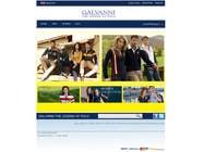 Website Design for Galvanni için Graphic Design33 No.lu Yarışma Girdisi