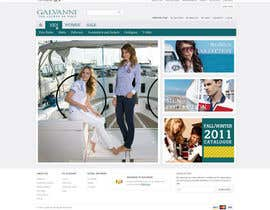 nº 14 pour Website Design for Galvanni par tuanrobo