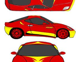 nº 5 pour Design Car Vinyl/Sticker for Ferrari F430 par suwantoes