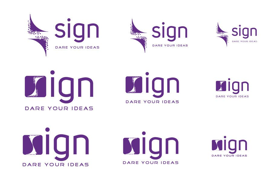 #182 for Design a logo for SIGN: the platform that funds citizens projects by alamin1973