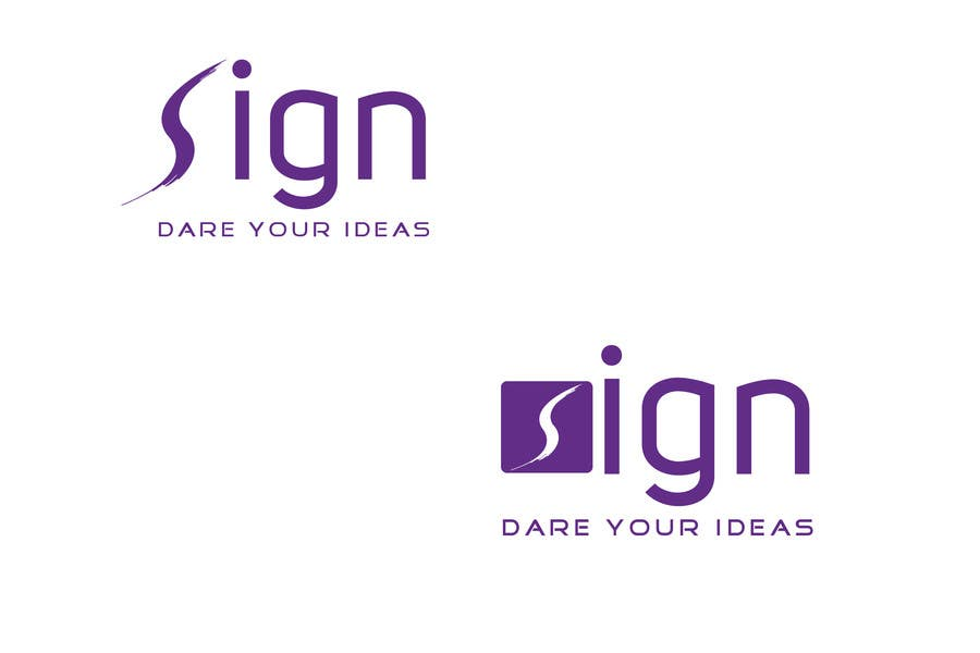 #184 for Design a logo for SIGN: the platform that funds citizens projects by alamin1973
