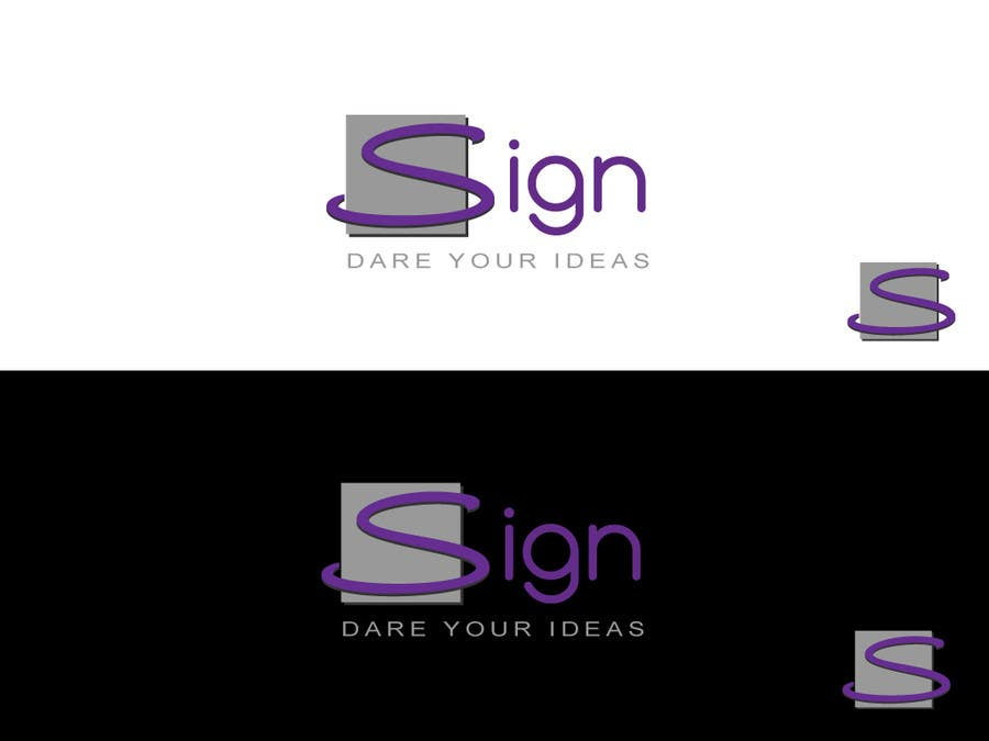 #211 for Design a logo for SIGN: the platform that funds citizens projects by Kkeroll