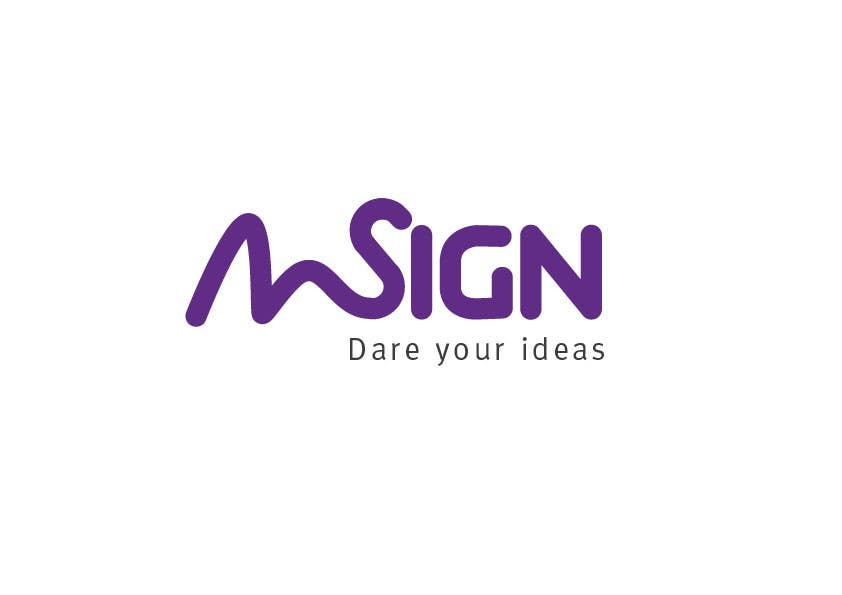 #191 for Design a logo for SIGN: the platform that funds citizens projects by mircokirsch