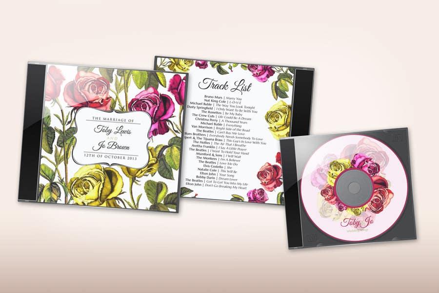 Kilpailutyö #7 kilpailussa Design of CD case cover, back and CD face