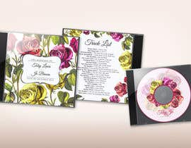 nº 7 pour Design of CD case cover, back and CD face par DanaDouqa