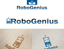 nº 68 pour Design a Logo for RoboGenius par sainil786