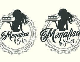 #16 for Logo Design for Monalisa Bakes by exos111