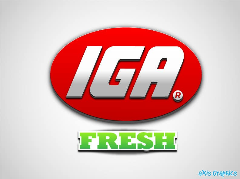 #133 for Logo Design for IGA Fresh by arunbluez