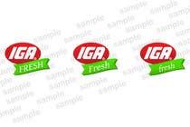 Graphic Design Inscrição do Concurso Nº105 para Logo Design for IGA Fresh