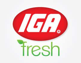 #155 for Logo Design for IGA Fresh af jennfeaster