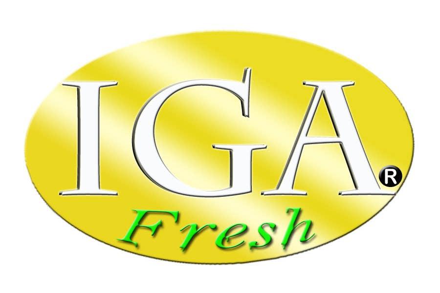 Kilpailutyö #39 kilpailussa Logo Design for IGA Fresh